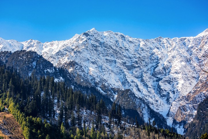 Snow Caped Mountain, Manali
