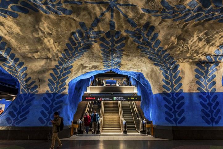 Stockholm Metro Station (2)