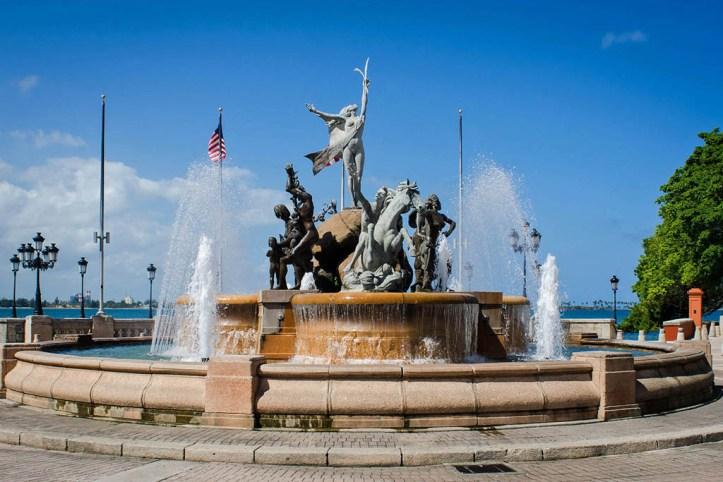 Raices Fountain, San Juan