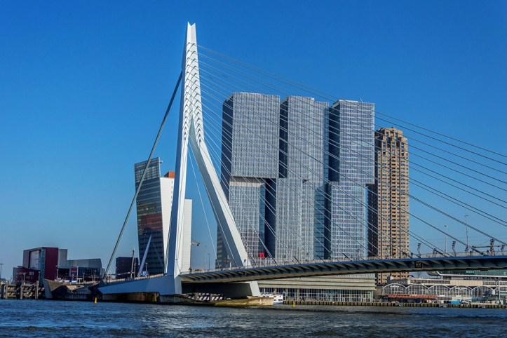 The Erasmus Bridge, Rotterdam