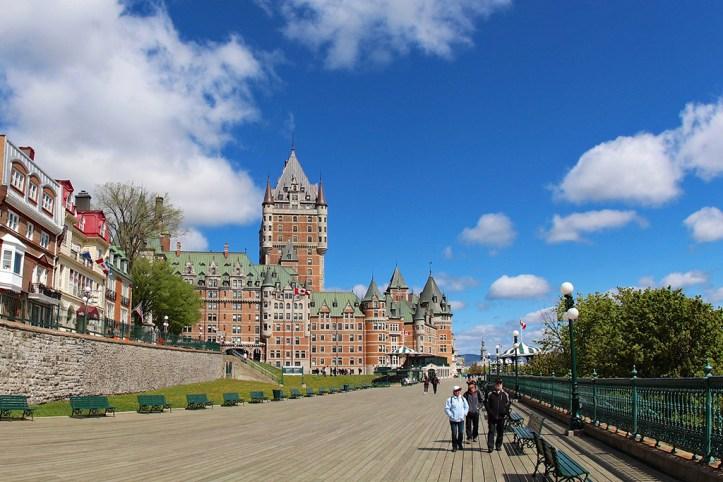 The Terrasse Dufferin, Quebec
