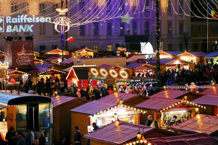 Christmas Market, Sibiu