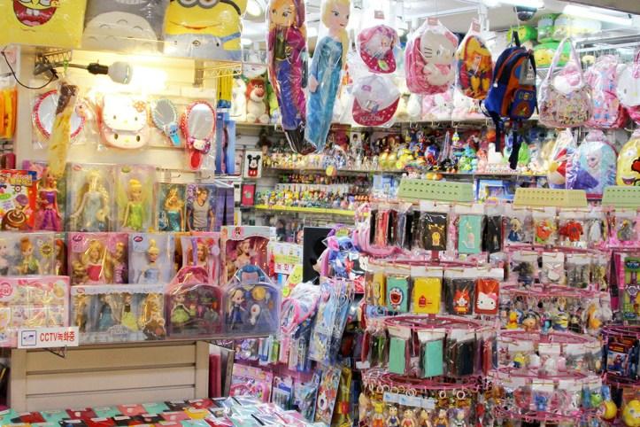 Myeongdong stalls, Seoul