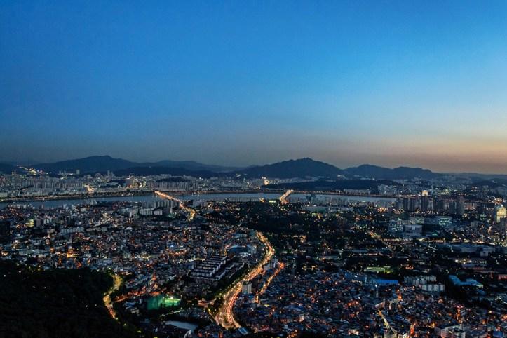 N Seoul Tower view, Seoul