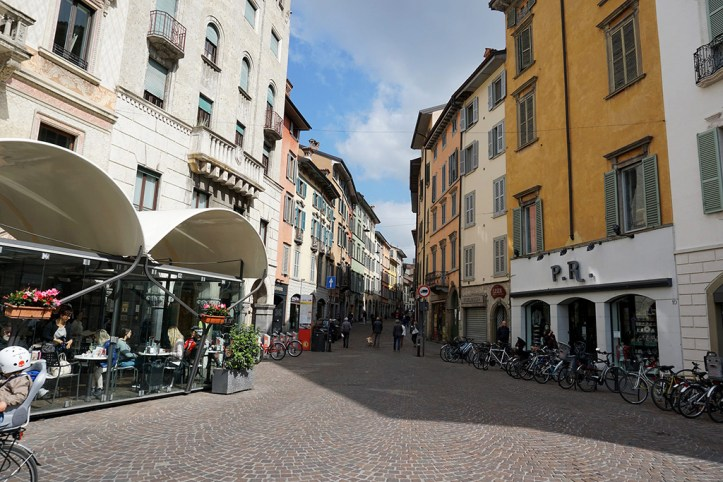 Street of Bergamo