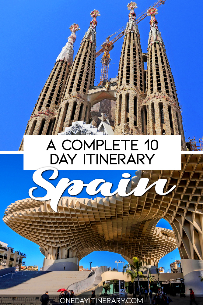 A complete 10 day itinerary - Spain