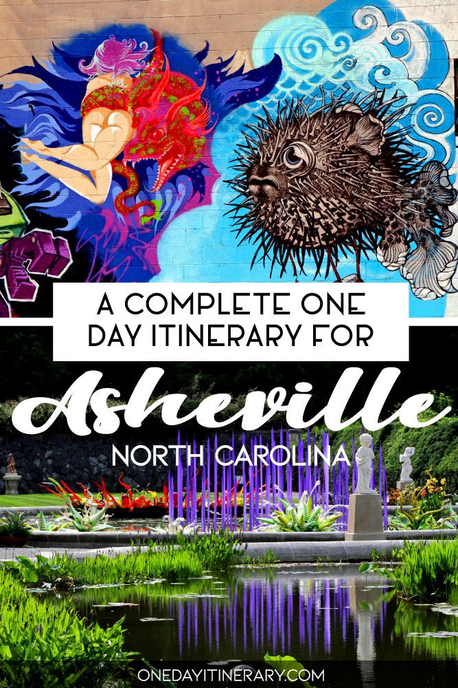 A complete one day itinerary for Asheville