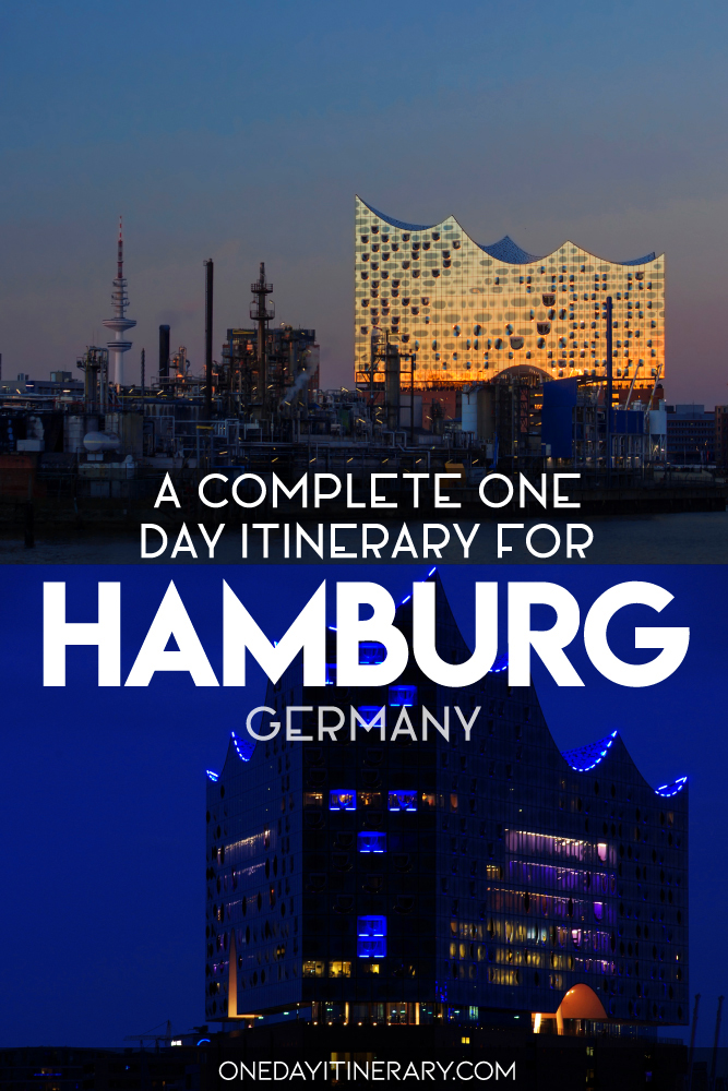 A complete one day itinerary for Hamburg, Germany