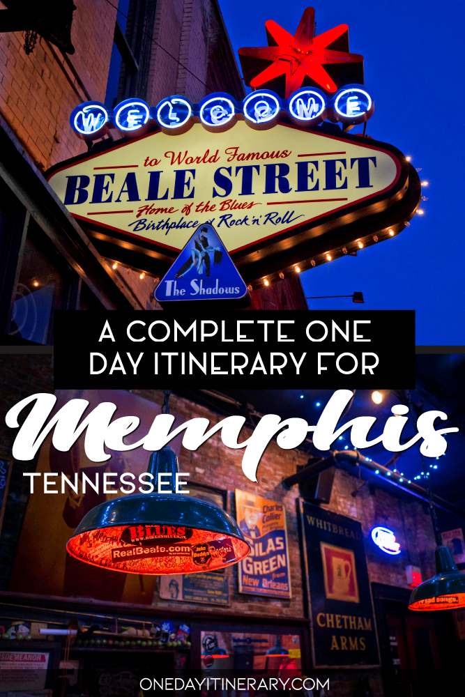 A complete one day itinerary for Memphis, Tennessee