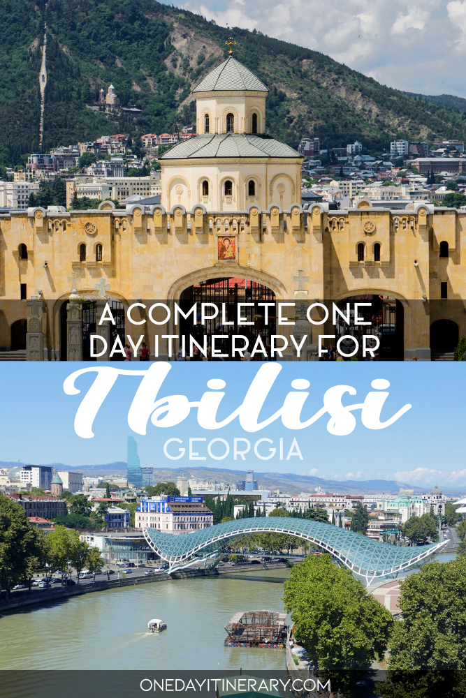 A complete one day itinerary for Tbilisi, Georgia