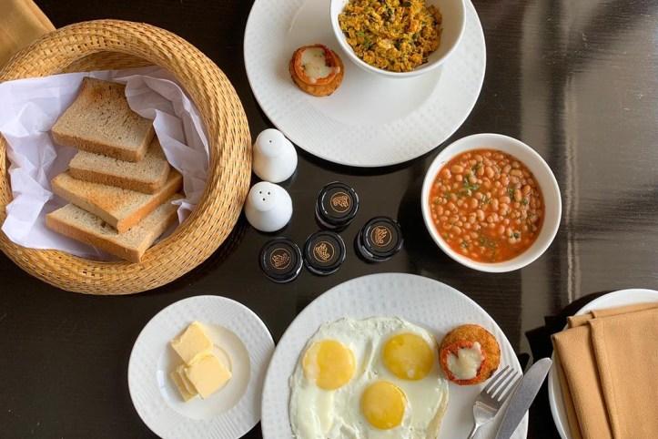 Breakfast at Vivanta, Guwahati