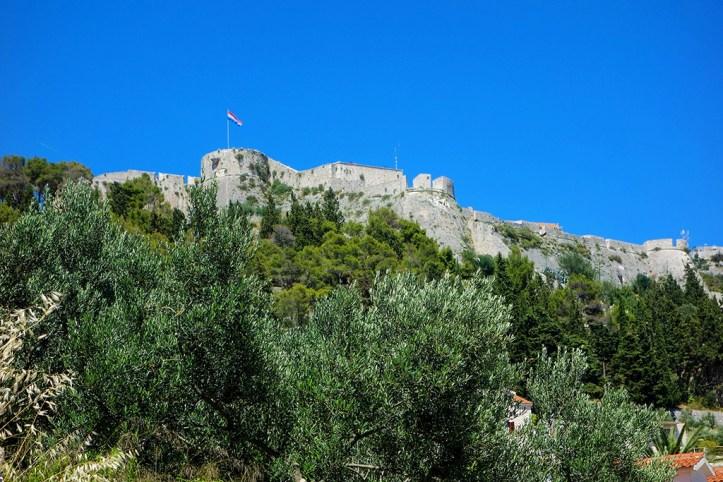 Fortress in Hvar