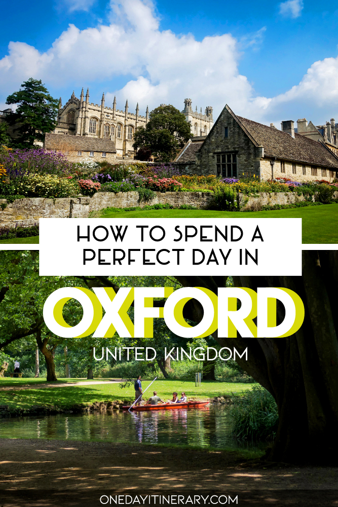How to spend a perfect day in Oxford, UK
