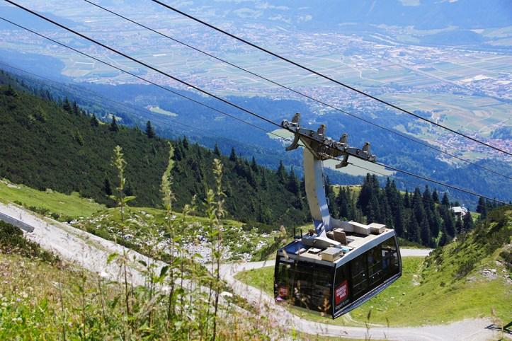 Nordpark Cable Car, Innsbruck