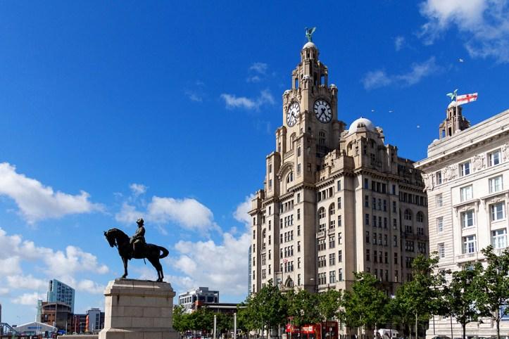The Royal Lliver Building, Liverpool