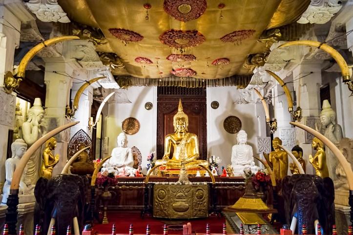 Buddha's tooth, Kandy