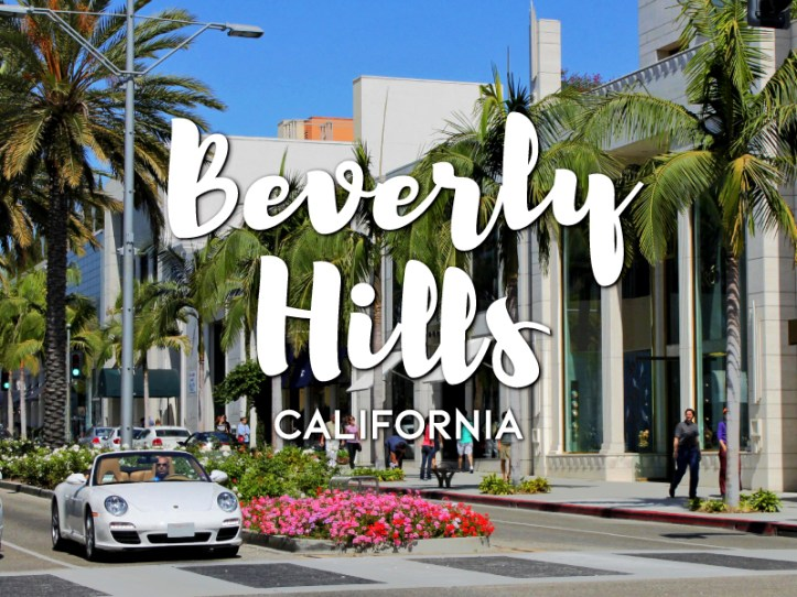 One day in Beverly Hills Itinerary