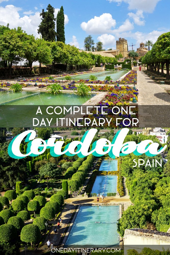 A complete one day itinerary for Cordoba, Spain