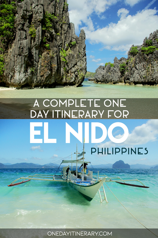 A complete one day itinerary for El Nido, The Philippines
