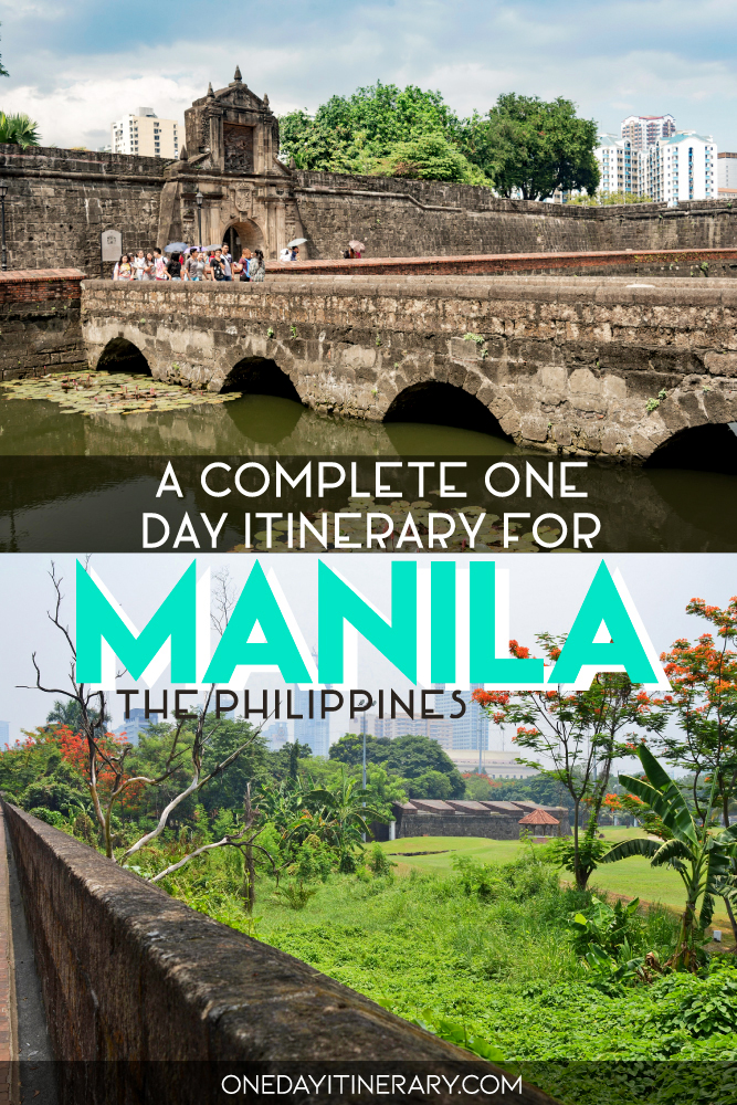 A complete one day itinerary for Manila, Philippines