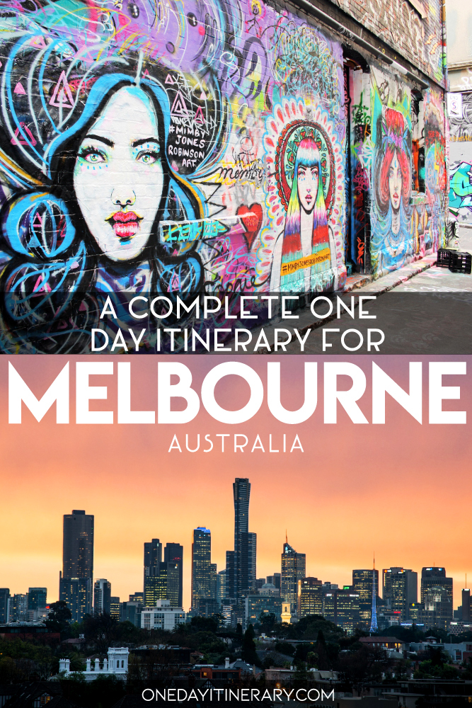 A complete one day itinerary for Melbourne, Australia