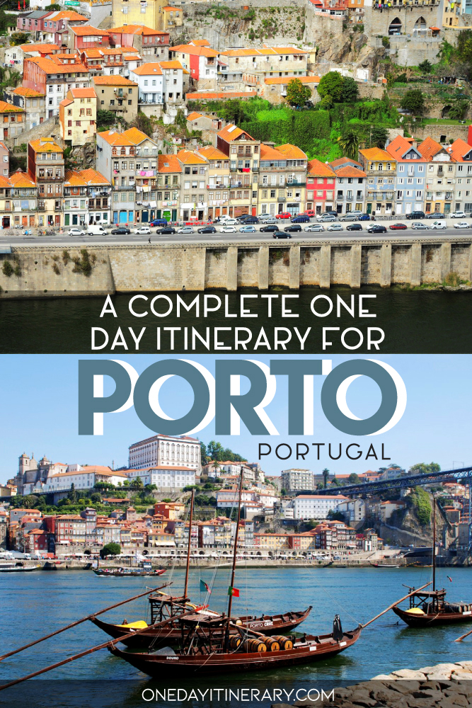 A complete one day itinerary for Porto, Portugal