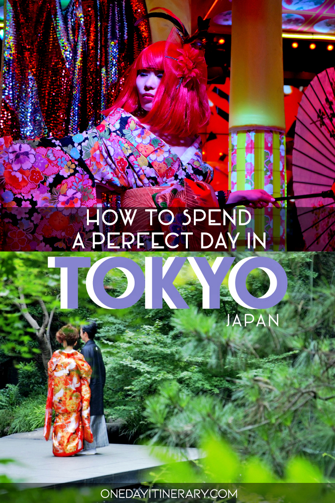 How to spend a perfect day in Tokyo, Japan