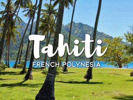 One day in Tahiti Itinerary