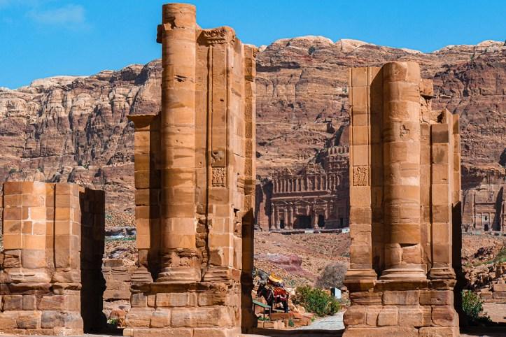 Collonaded Street, Petra