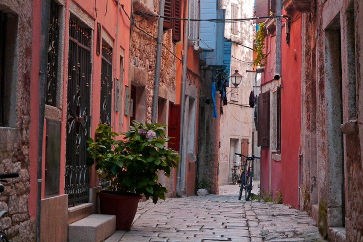 Streets of Rovinj