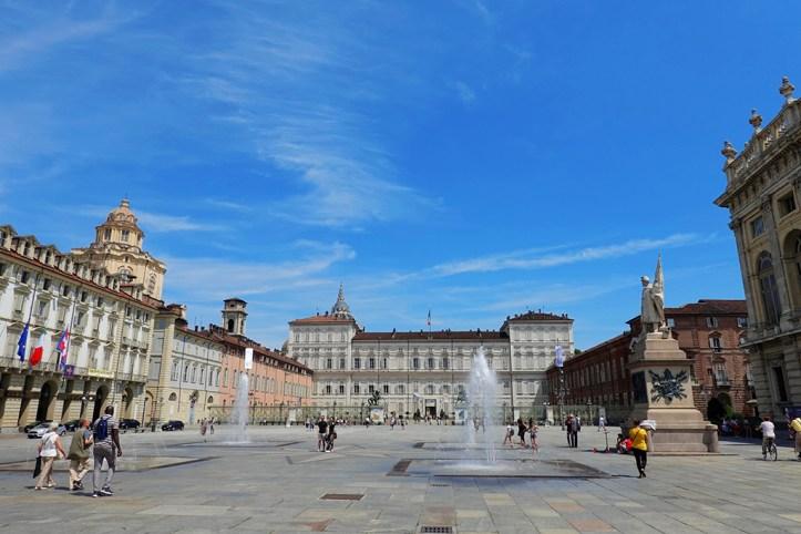 Palazzo Reale on Piazza Castello, Turin