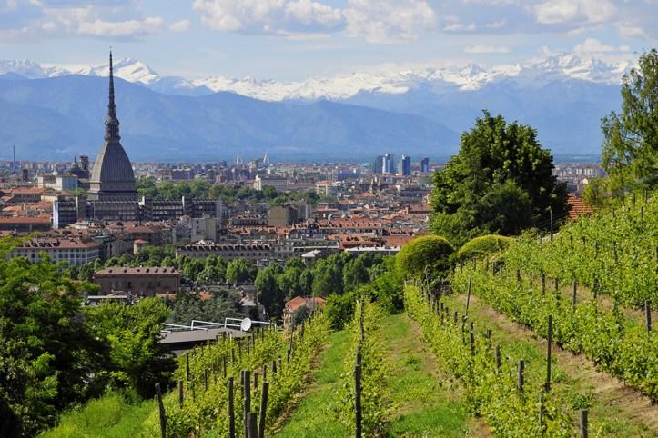 Turin in summer