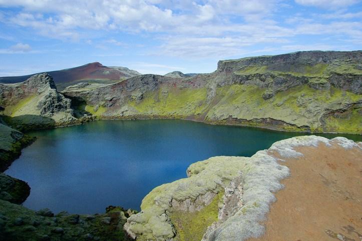 Crater Lake, Iceland
