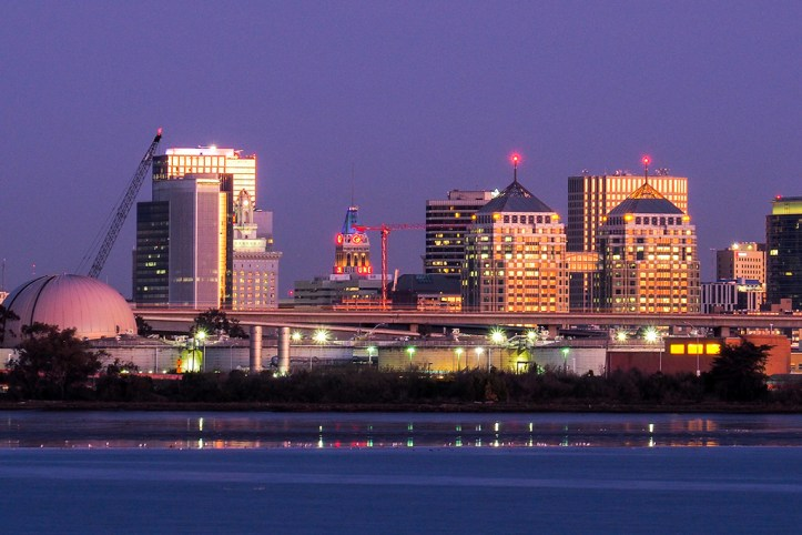 Downtown Oakland at Dusk