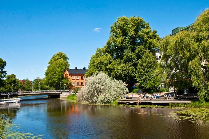 Fyris River, Uppsala