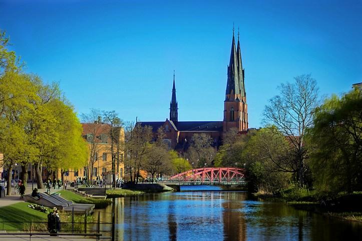 Uppsala in Fall