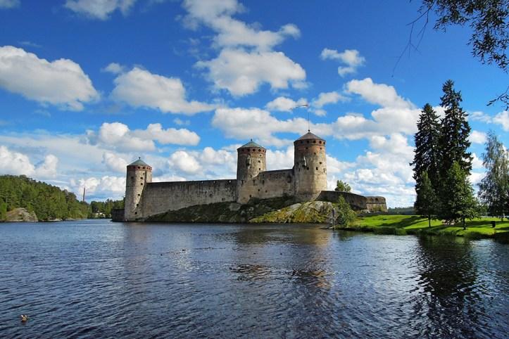 Olavinlinna Castle on Lake Saimaa, Savonlinna
