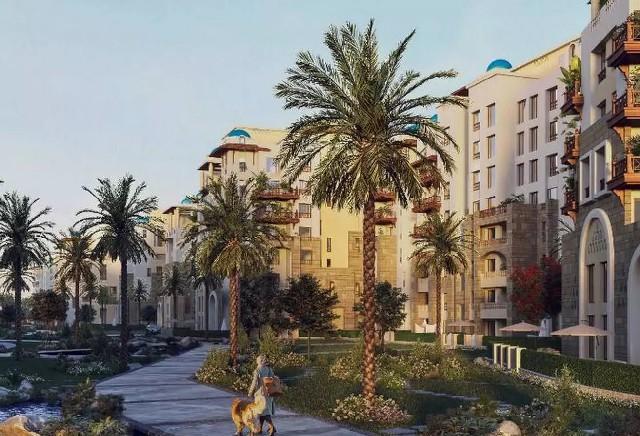 شقة130م بقلب العاصمة الادارية