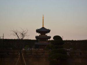 慶元寺;三重塔