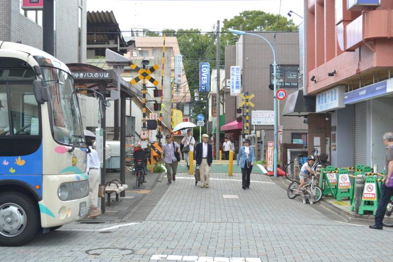 浜田山駅踏切