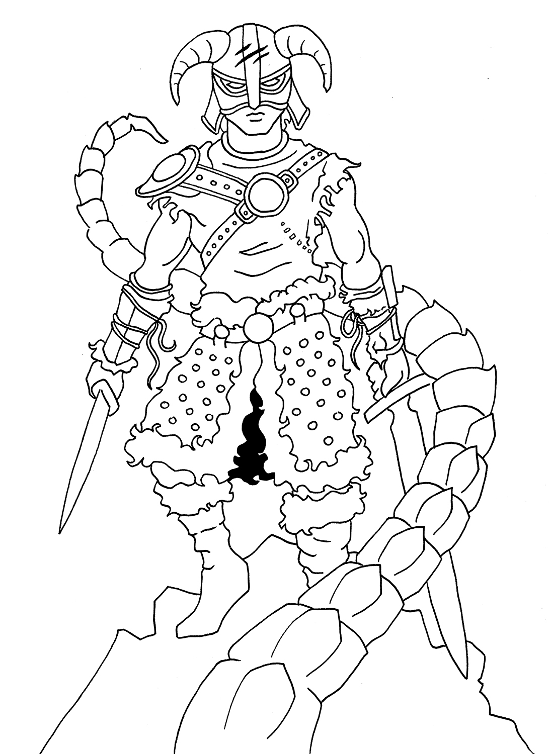 The Elder Scrolls Coloring Pages