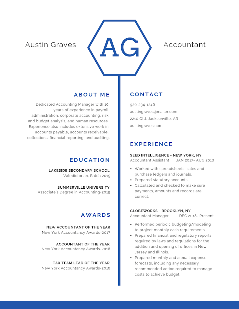 resume template images