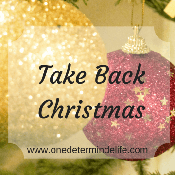 Take Back Christmas