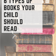 6 Types of Books to read to your child