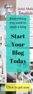 blogging resources, blogging tools, social media templates, fonts, blog theme, everything you need to start a blog,