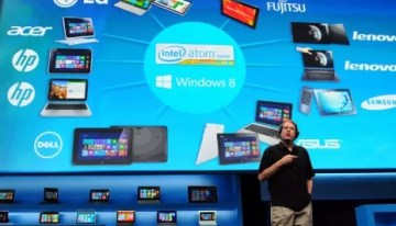 Intel anuncia en CES tablets con Windows 8 y nuevo SoC Atom #2013CES