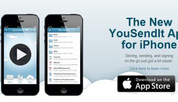 YouSendIt presenta sus aplicaciones para enviar archivos grandes desde dispositivos móviles