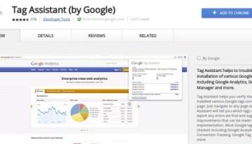 Tag Assistant: extensión de Chrome que ayuda a generar etiquetas para los sitios webs