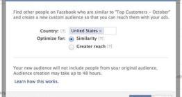 """Facebook presenta """"Públicos Personalizados"""" su nueva herramienta de segmentación para anunciantes"""