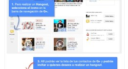 Infografía: ¿Cómo aprovechar los Hangouts de Google+?
